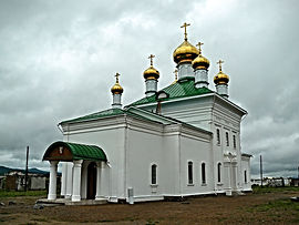 Никольский храм Селенгинского монастыря.