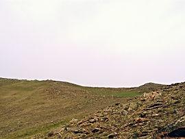 Степной пейзаж Тажеранских степей.