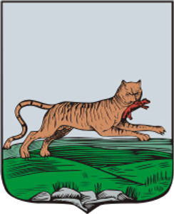 Бабр герб Иркутска.