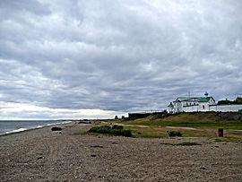 Монастырь на берегу Байкала.