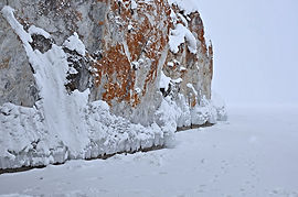Малый Кылтыгей зимой.
