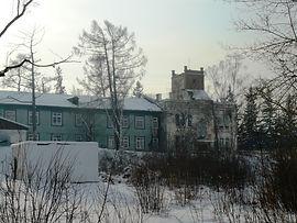 Один из корпусов курорта Усолье.