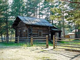 Дом зимник пашенного крестьянина.
