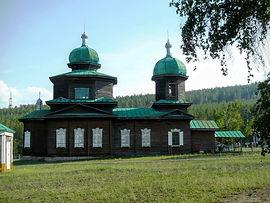 Никольская православная старообрядческая церковь.