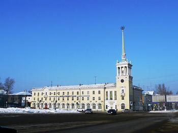 Ангарск, площадь Ленина главпочтампт