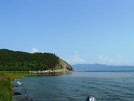Пляж в Монахово.