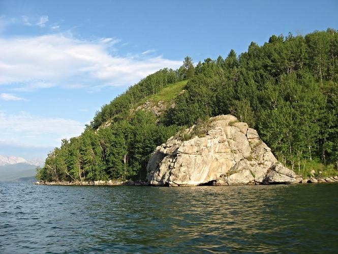 Большой Бакланий остров с юго-запада.