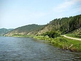 Правый берег реки Селенги