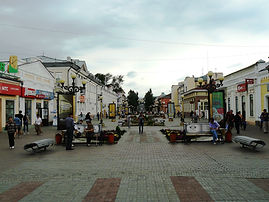 Улица Ленина, Улан-Удэ.
