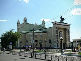 Здание театра оперы и балета в Улан-Удэ.