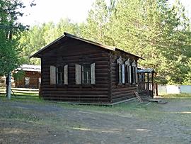 Дом зимник забайкальского бурята.