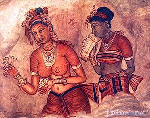 Сигирия древняя роспись