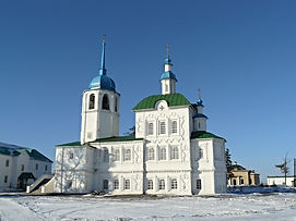 Спасо-Преображенский собор зимой.