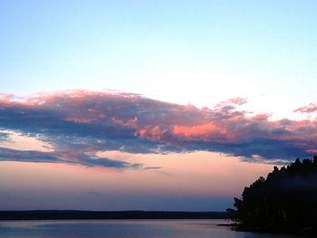 Закат на иркутском море
