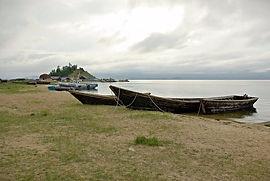 Село Катунь, полуостров Святой Нос.