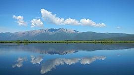 Озеро Арангатуй. Чивыркуйский перешеек.