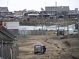 Посёлок Курбулик.