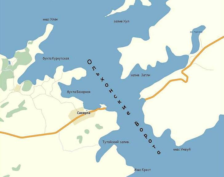 Пролив Ольхонские Ворота.