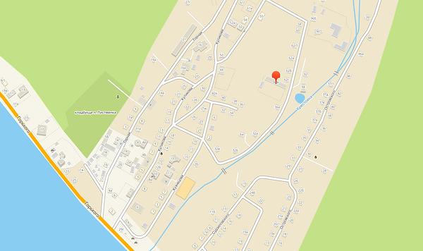Ретро парк Осиповых, карта