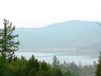 Озеро Духовое. Славится своей рыбалкой.
