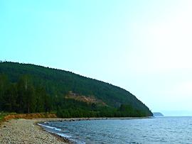 Пляж в Усть-Баргузине. Холодянки.