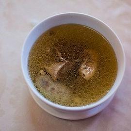 Бухлер бурятский мясной суп.