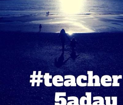 #teacher5aday #pledge 2019