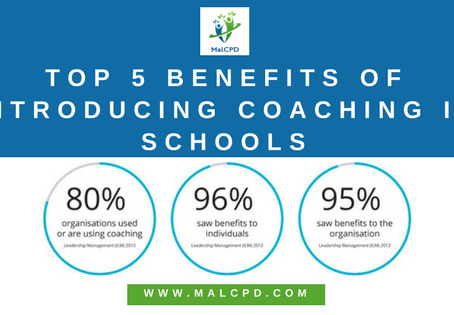 Top 5 Benefits of Introducing Coaching in Schools