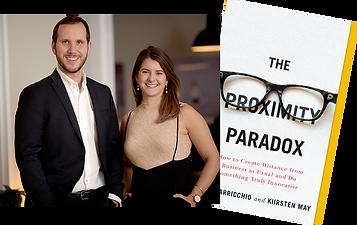 Kiirsten May and Alex Varricchio, authors of The Proximity Paradox