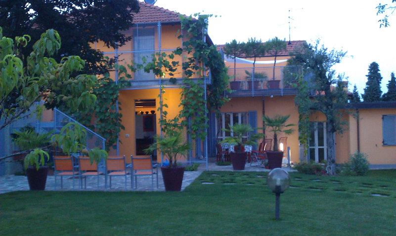 la casa il giardino