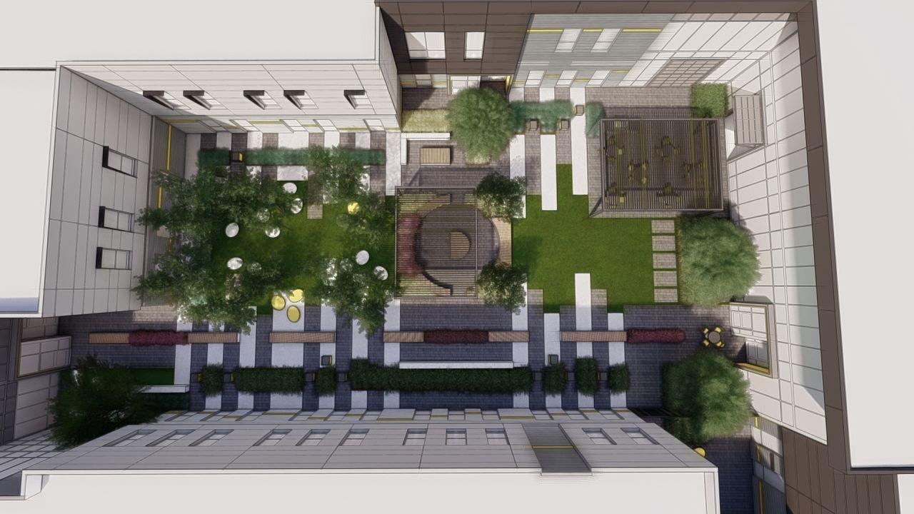 CTE couryard (courtesy of Loft Six Four)