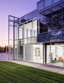 Viewmont High - South Glass and Entry -