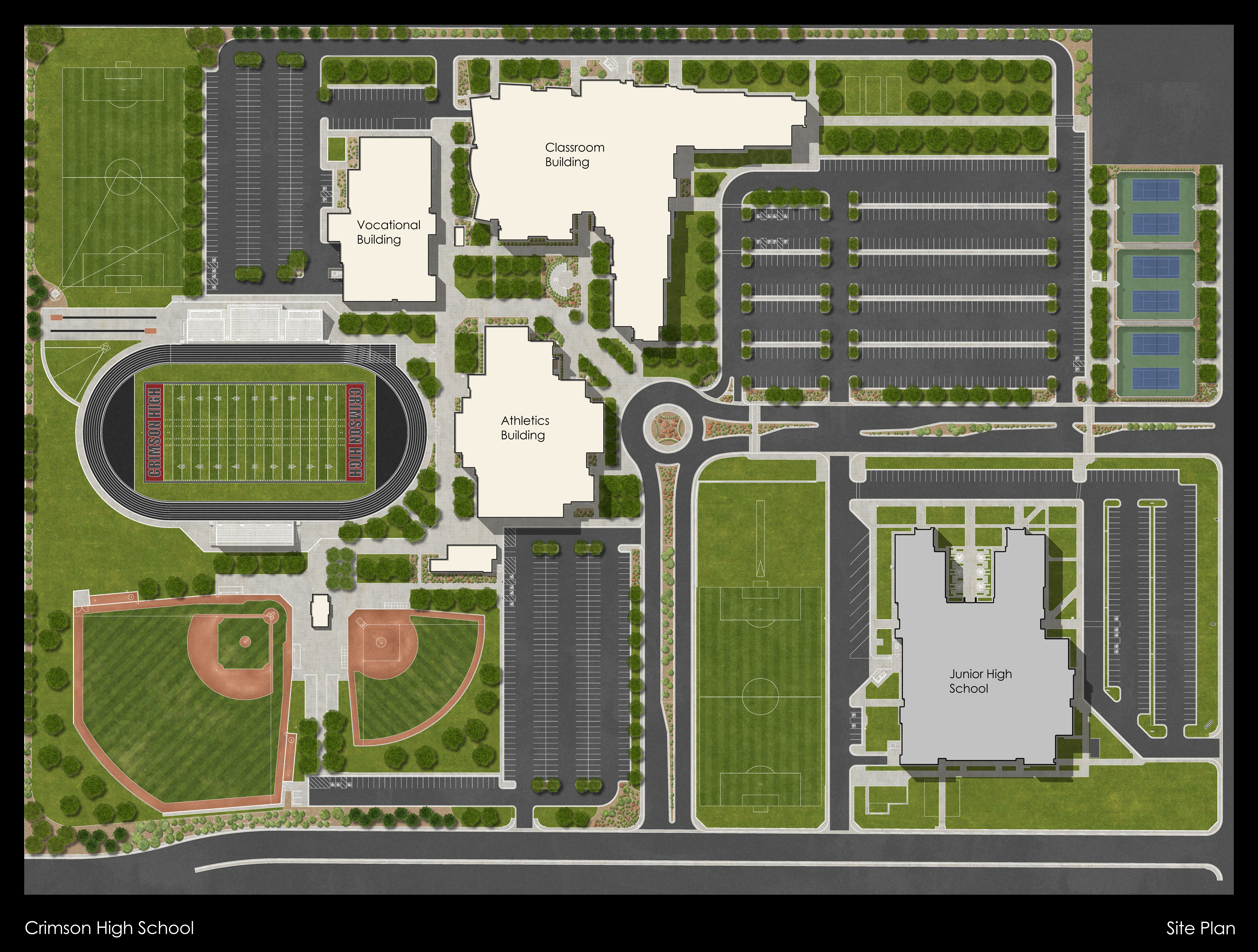 16.12.12 Crimson High Site Plan