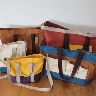 5種類のオリジナルバッグ