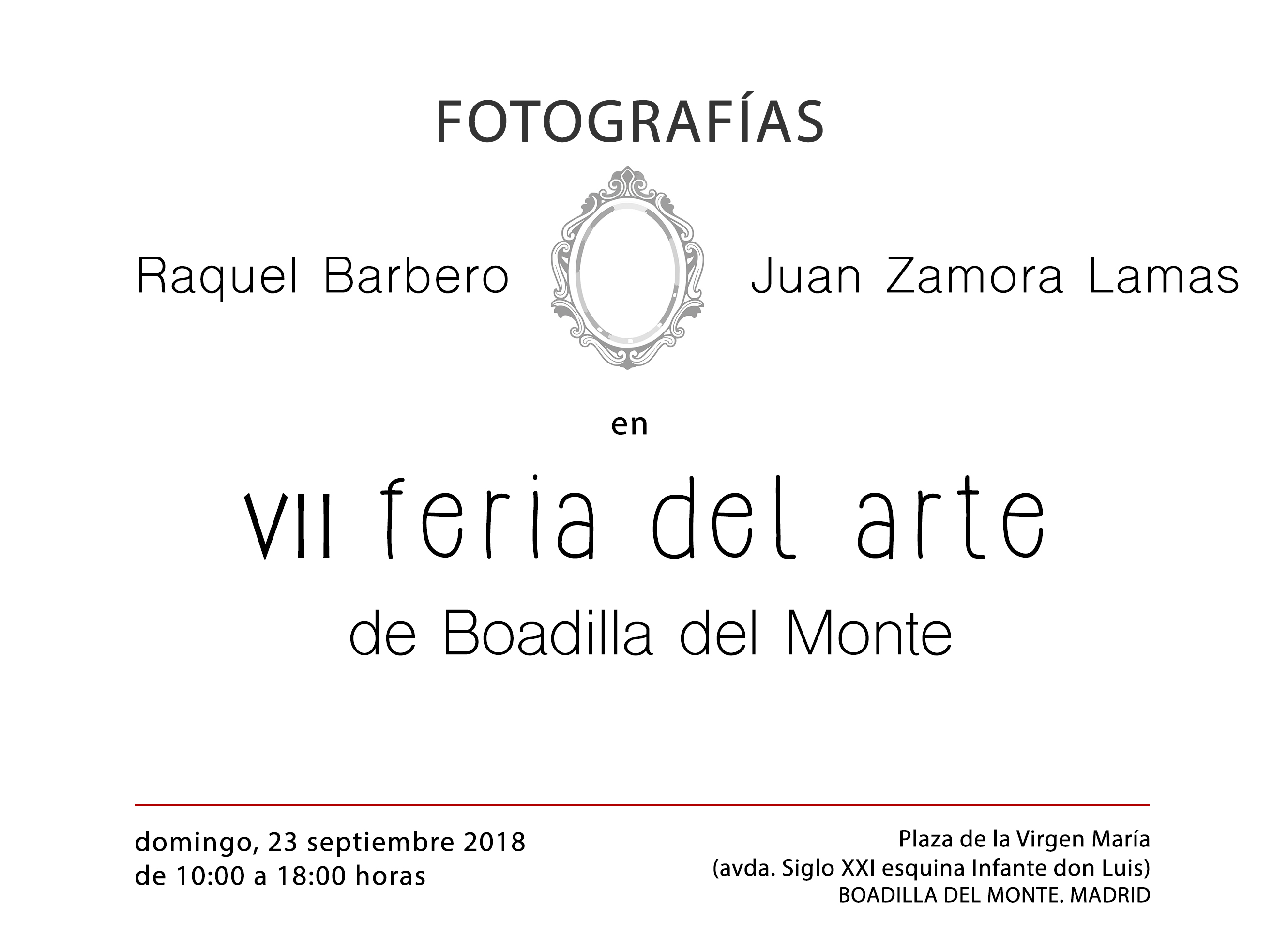 Feria de arte 2018 de Boadilla del Monte