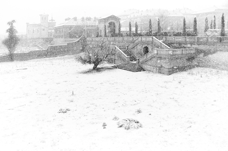 Palacio en invierno [01] (2018)