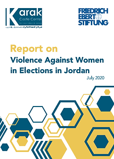 Report on Violence Against Women in Elections in Jordan