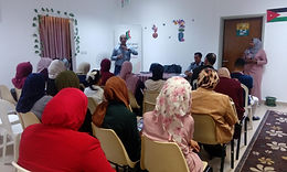 """Dialogue session titled """"The role of women in entrepreneurship in Tafilah governorate"""
