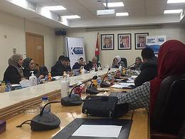 مركز قلعة الكرك للاستشارات والتدريب يناقش مسودة قانون الادارة المحلية  مع لجنة المرأة والاسرة النيابية
