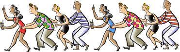 Die Bolognese tanzen