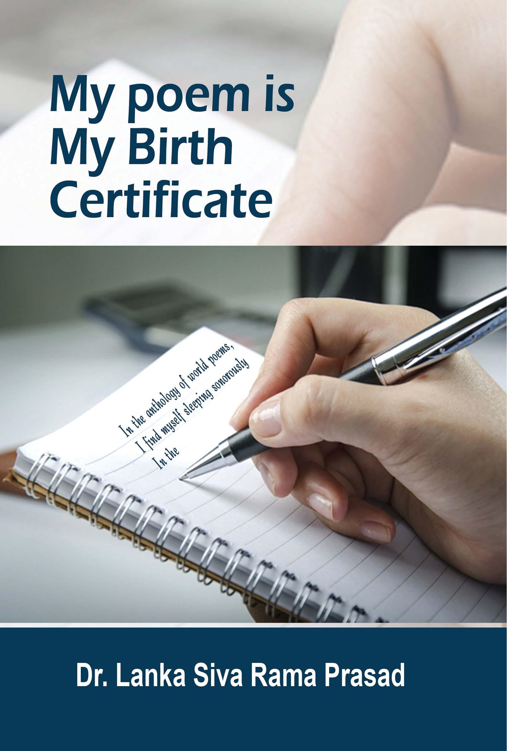 My Poem is My Birth Certificate