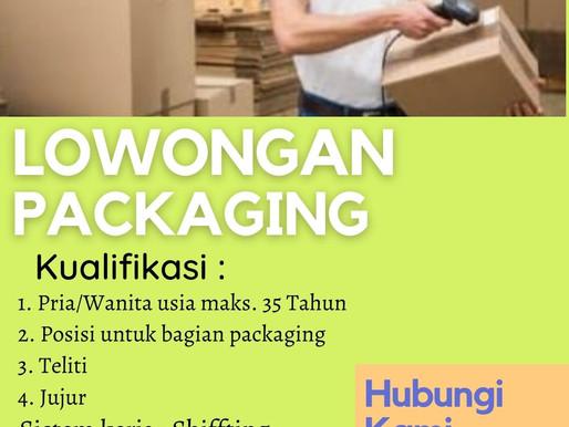 Lowongan Kerja Team Processing area Tangerang