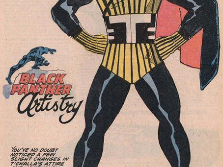 Where did the true inspiration for the comic book character Black Panther come from?