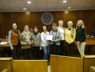 LMS Landscaping Committee Honored