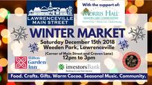 Morris Hall To Sponsor the Lawrenceville Main Street Winter Market