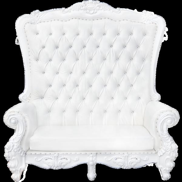 Queen Loveseat Throne Chair