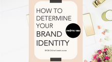 BYOB: Step 1- What the heck is a BRAND!