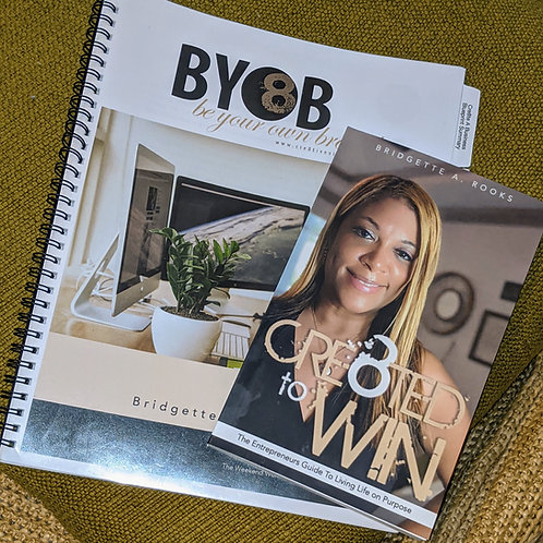BYOB Online Course, Handbook & Cre8ted to Win!