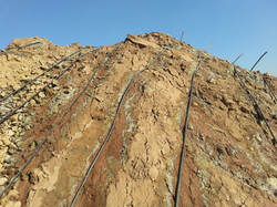 Drip Leach Line  Slope