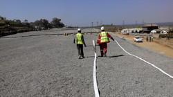 Flat Net Pipe Installation